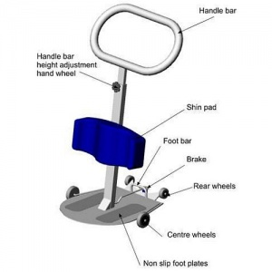 Locomotor Rota Stand Sports Supports Mobility